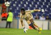 Nigerian goalkeeper Chigozie Agbim — Stock Photo