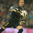 Victor Valdes of FC Barcelona — Stock Photo #18447441