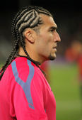 Jose Manuel Pinto of FC Barcelona — Stock Photo