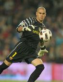 Victor Valdes of FC Barcelona — Stock Photo