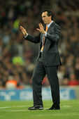 Unai Emery of Valencia CF — Stock Photo
