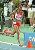 Meryem Erdogan of Turkey during 5000m women — Stockfoto