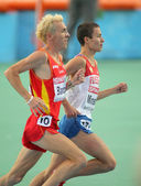 Jose Luis Blanco(L) of Spain and Ildar Minshin(R) of Russia — Stock Photo