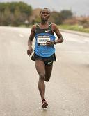 The Olympic Marathon champion in Beijing 2008, Samuel Wanjiru — Stock Photo