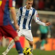 Griezmann of Real Sociedad in action - Stock Photo