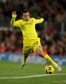 Giuseppe Rossi of Villarreal CF — Stock Photo