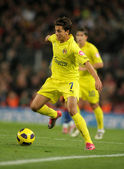 Nilmar of Villarreal CF in action — Stock Photo