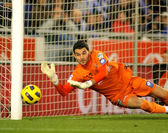 Juan Pablo Colinas of Sporting Gijon — Stock Photo