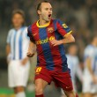 Andres Iniesta of Barcelona - Stock Photo