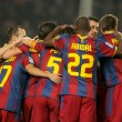 Постер, плакат: Players group of FC Barcelona