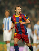 Andres Iniesta of Barcelona — Stock Photo