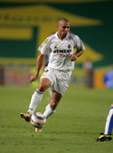 Brazilian player Ronaldo of Real Madrid — Stock Photo