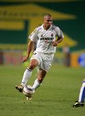 Brazilian player Ronaldo of Real Madrid — Stock Photo