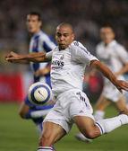 Brazylijski piłkarz ronaldo real madryt — Zdjęcie stockowe