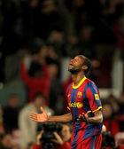 Seydou Keita of Barcelona during a Spanish Cup match — Stock Photo