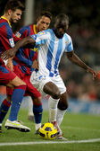 Quincy Owusu-Abeyie of Malaga — Stock Photo