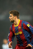 Gerard Pique of Barcelona — Stock Photo