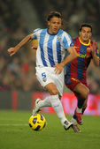 Martin Demichelis of Malaga — Stock Photo