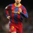 Foto Stock: Pique of Barcelonduring match between FC Barcelona