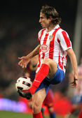 Filipe Luis Kasmirski of Atletico Madrid — Stock Photo
