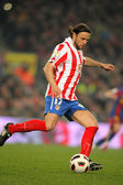 Tomas Ujfalusi of Atletico Madrid — Stock Photo