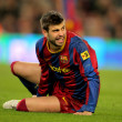 Gerard Pique of Barcelona — Stock Photo #18612919
