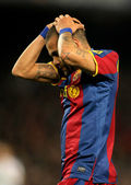 Daniel Alves of Barcelona — Stock Photo