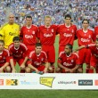 Liverpool FC team — Stock Photo