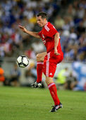 Jamie Carragher of Liverpool FC — Stock Photo