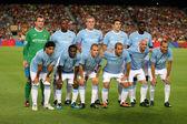 Manchester City Team — Stock Photo
