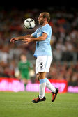 Manchester City's Argentinian defender Pablo Zabaleta — Stock Photo