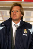 Bernd Shuster coach of Real Madrid — Stock Photo
