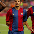 Постер, плакат: Gianluca Zambrotta of Barcelona