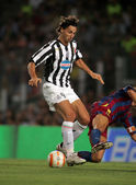 Zlatan Ibrahimovic of Juventus — Stock Photo