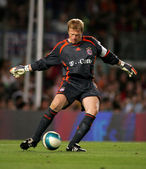 Oliver Kahn of Bayern Munich — Stock Photo