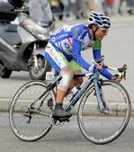 Andalucia Caja Granada's cyclist Adrian Palomares — Stock Photo