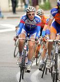 Quickstep's cyclist Belgian Julien Vermote — Stock Photo