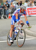 Quick Step's cyclist Dutch Addy Engels — Stock Photo