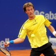 Stock Photo: Spanish tennis player Gimeno-Traver