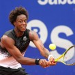 Stock Photo: French tennis player Gael Monfils
