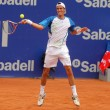 Stock Photo: Argentinitennis player JuIgnacio Chela