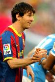 Leo Messi of Barcelona — Fotografia Stock