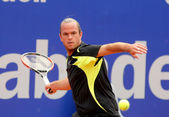 Belgian tennis player Xavier Malisse — Stock Photo