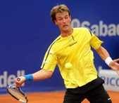 Spanish tennis player Gimeno-Traver — Stock Photo