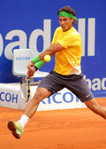 Spanish tennis player Rafael Nadal — Stock Photo