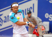 Spanish tennis player David Ferrer — Stock Photo