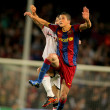 Stock Photo: Ibrahim Afellay of Barcelona