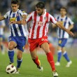 Raul Garcia(R) of Atletico Madrid — Foto de Stock