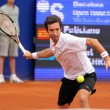 Kazakh tennis player Mikhail Kukushkin - Stock Photo
