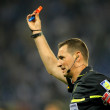 Постер, плакат: Referee Clos Gomez indicates kick off